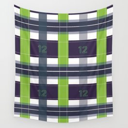 Seattle Plaid Wall Tapestry