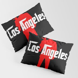 Los Angeles mafia Pillow Sham