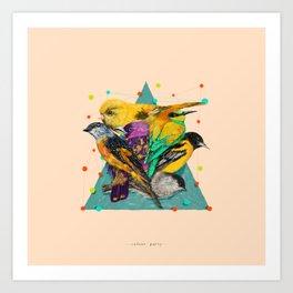 Colour Party Art Print
