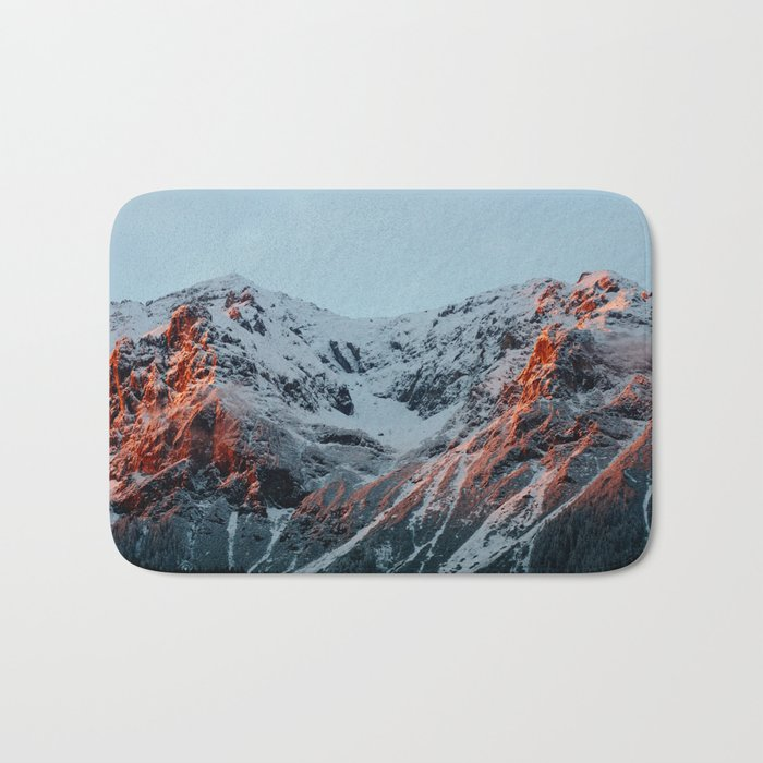 Burnt Mountains Bath Mat