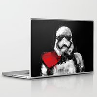trooper Laptop & iPad Skins featuring Trooper by Rafal Rola