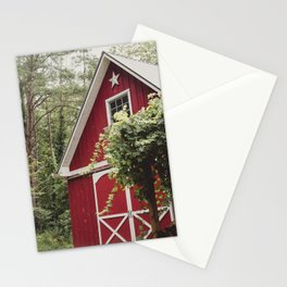 Red Barn 3 Stationery Cards