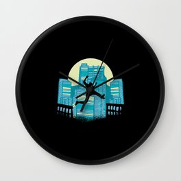 PARKOUR TRACER Wall Clock