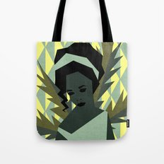 The shy girl Tote Bag