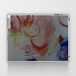 ultramarine, crimson, ochre abstract Laptop & iPad Skin