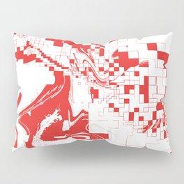 Digital Abstract  Pillow Sham