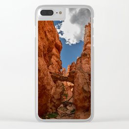 Bryce_Canyon National_Park - 4 Clear iPhone Case