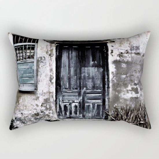 Vietnamese Facade Rectangular Pillow