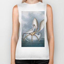 """Fairy Resting On A Shell"" by Amelia Jane Murray Biker Tank"