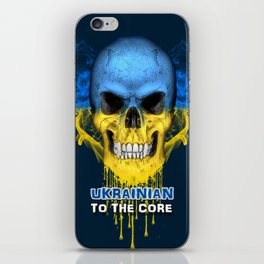 To The Core Collection: Ukraine iPhone Skin