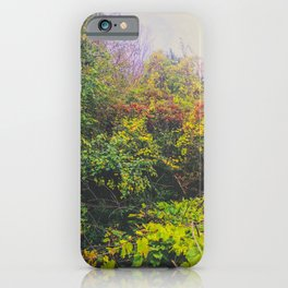 Mystical fog iPhone Case