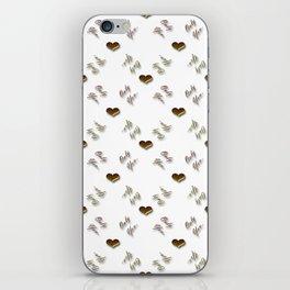 Valentines love pattern iPhone Skin