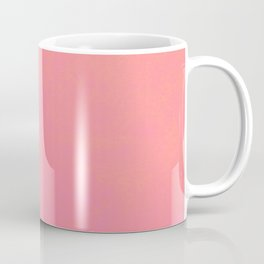 pink coral red color trend plain texture Coffee Mug