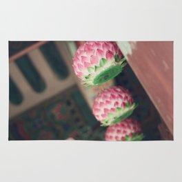 Lotus Lanterns Rug