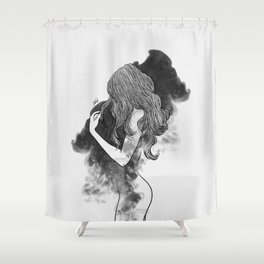 The gates of darkness. Shower Curtain