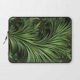Fractal Art: Variegated Leaf Laptop Sleeve