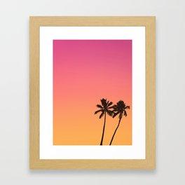 Hot Summer Mood Framed Art Print