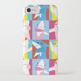 Left Shark Pop Art iPhone Case