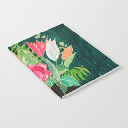 Tiger Vase Notebook