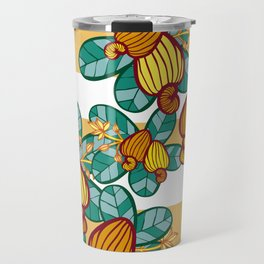 Orange Cashew Apple Travel Mug