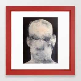 big head Framed Art Print