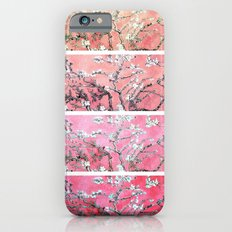 Van Gogh Almond Blossoms Deep Pink to Peach Collage iPhone 6s Slim Case