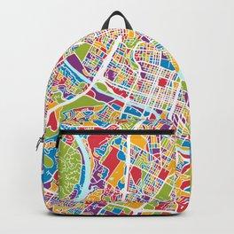 Austin Texas City Map Backpack