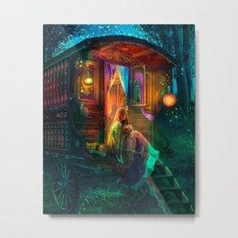 Gypsy Firefly Metal Print