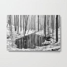 Hidden sump Metal Print