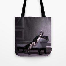 Beautiful courtesan in her lavender salon Tote Bag