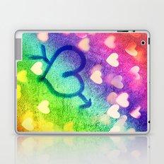 Graffiti Hearts  Laptop & iPad Skin