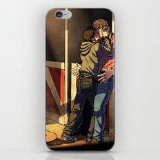 William and Theodore 22 iPhone & iPod Skin