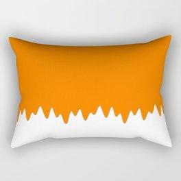 Orange ice cream Rectangular Pillow