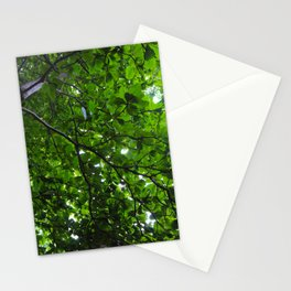 Green Love Stationery Cards