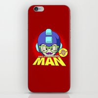 the smiths iPhone & iPod Skins featuring 8-bit Smiths - This Charming Mega Man by Butcher Billy