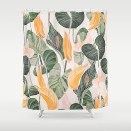 Lush Lily - Autumn Shower Curtain