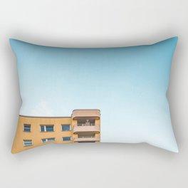 Sky and Yellow Rectangular Pillow