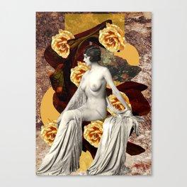Golden Woman Canvas Print