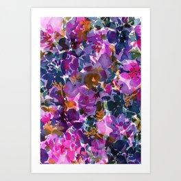 Shadow Rose Art Print