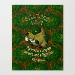 Keyes2life: Psalms Light Canvas Print