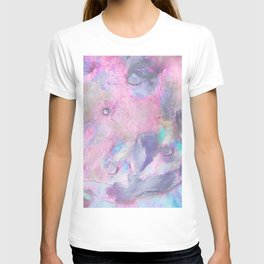 Soft Color Mermaid Style T-shirt