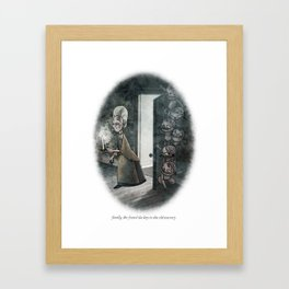 BEHIND YOU 6 Framed Art Print