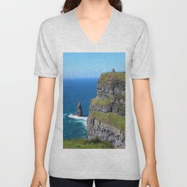 Over the Castle on the Hill Unisex V-Neck