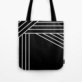 Lines Inverted Tote Bag