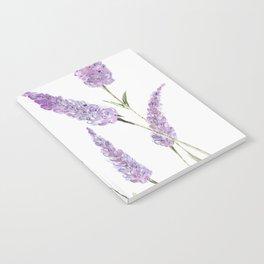 Lavander Notebook