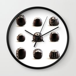 stoneheads 003 Wall Clock