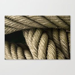 sailor hawser Canvas Print