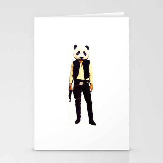 Pan Solo Stationery Cards