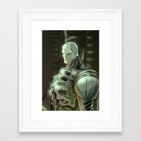prometheus Framed Art Prints featuring Prometheus by Kaan Demircelik