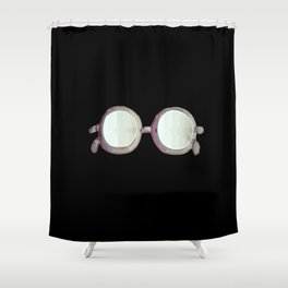 Magical Lenses Watercolor Shower Curtain